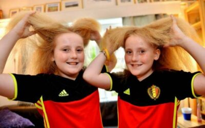 Meet The Norendal Twins With Impossibly Frizzy Hair